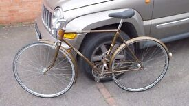 Lovely Vintage bike - 1971 RALEIGH ESQUIRE SINGLE SPEED