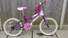 "Girls 18"" starlight bike"