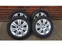 4x alloy wheels for astra corsa etc