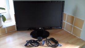 """COMPUTER MONITOR - HP S2031a 20"""" LCD Widescreen Monitor - perfect order"""