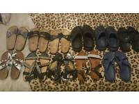 11 Pairs of Ladies Shoes Sizes 5 & 6