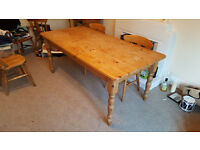 Dining Room Table (Wooden)
