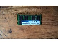 2gb Laptop RAM DDR2 2RX8