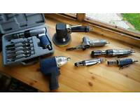 Used selection of air tools, Blue Point, Snap-on