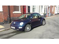 VW Beetle Looking to swap only bigger car
