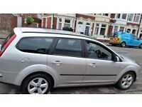 Ford focus estate zetec 12months mot service history cheap on fuel and tax aloy cd 57plate