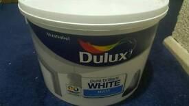 Dulux Pure Brilliant WHITE MATT EMULSION PAINT 10 L