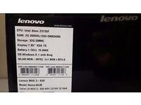 "Lenovo MIIX 3 7.85"" Tablet / laptop (80JB), very fast"