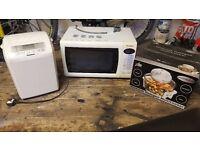Panasonic bread maker/ Panasonic microwave grill oven/Visicook halogen multicooker
