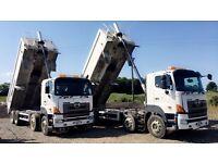 HINO 3241-700 8x4 TIPPERS