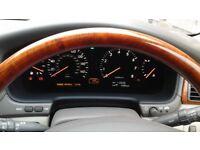 Lexus LS430 silver mot 22/8/18