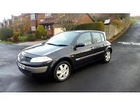 2004 Renault Megane 1.6 dynamique . 12 months mot . Immaculate