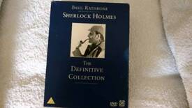 SHERLOCK HOLMES THE DEFINITIVE COLLECTION DVD BOX SET.