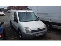 Ford transit connect couple months mot drives good has side loading door roof rack 6 cd changer