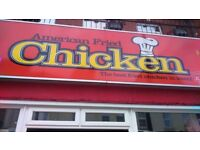 Takeaway/Chicken/Kebab/Pizza shop for sale