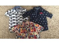 Boys next shirts age 2-3 plus denim shorts