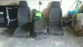 Volkswagen rear seats