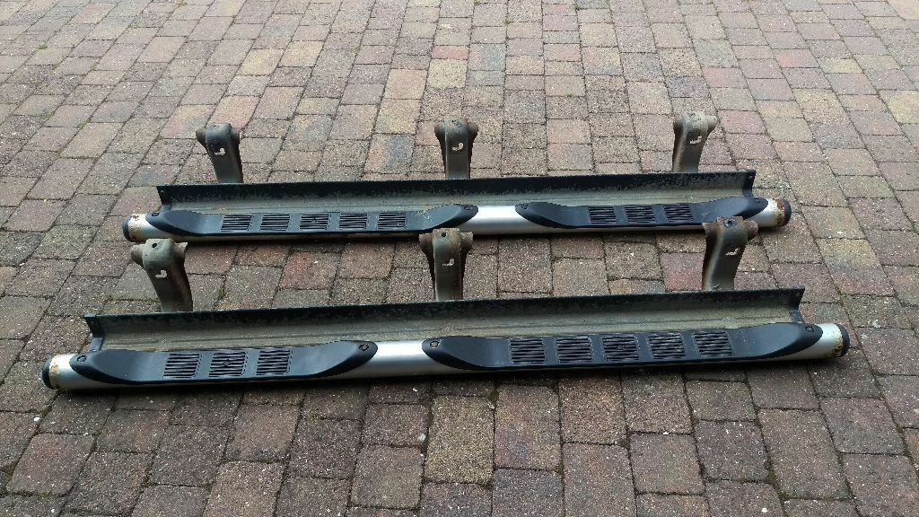 Mitsubishi L200 Barbarian Side Steps Runners 2010 In