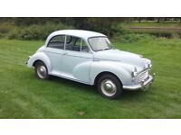 Morris Minor 1000 Moggy Moggie