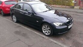 Immaculate BMW 3 series with warranty, low mileage, stunning leather, petrol.
