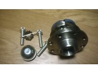brand new 4 stud wheel hub & bearing with abs