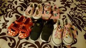Girl's size 7 and 8 shoes