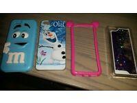 4 x Iphone 5c cases