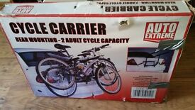 Bicycle carrier never used