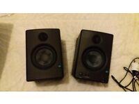 E4.5 eris active monitor speakers