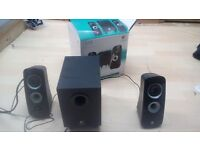 Logitech z323 speakers and sub
