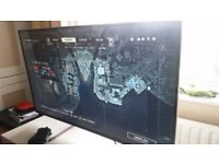 Acer 4k computer monitor. ET430K 43 inch UHD. Perfect apart from 1 dead pixel. rrp £540