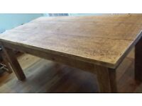 Lovely solid pine table for sale