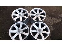 """Genuine wheels 18"""" 5x112 Audi TT A3 A4 A6 Seat Skoda VW New Beetle Passat T4 DELIVERY available"""