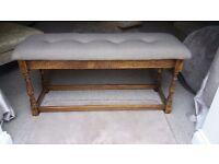 Window seat / padded bench