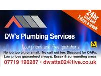 24hr emergency plumber and heating engineer All of Essex, Kent And London covered