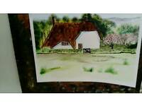 Water colour painting for sale