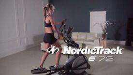 NordicTrack E7.2 Incline Elliptical Cross Trainer (iFit Live compatible)