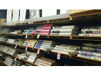 WALLPAPER CLEARANCE SALE NOW ON (WHILE STOCK LASTS)from only £5 per roll