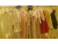 baby girl clothrs selection 3-6mths