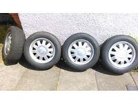 195/65/15 15 inch Audi Alloy Wheels of VW T4 Transporter 195 65 15