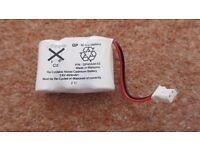 Cordless Rechargeable Telephone Battery 3.6v 400mAH
