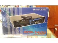 Omnitronic XCP-1400 single 19-inch CD player