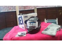 Shoei Qwest Motorcycle helmet - worn only a few times from new, absolute bargain