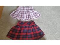 Girls skirt bundle x 5