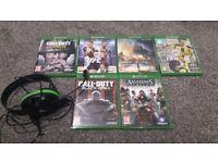 Xbox Games/Headset