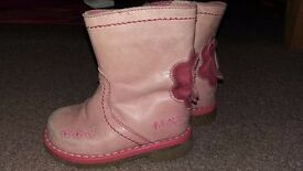 Size 3 pink boots