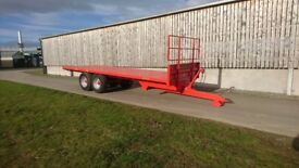 Marshall Bale trailer BC25 12 ton . No vat