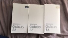 Samsung Galaxy S6 (Brand New,Boxed Sealed Unlocked To All Networks) Mobile phones