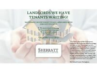 LANDLORDS AND PROPERTY OWNERS WANTED !