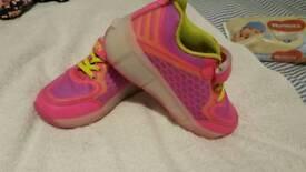 Nike heelys type trainers